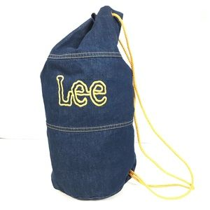 Vintage Lee Denim Duffle Bag